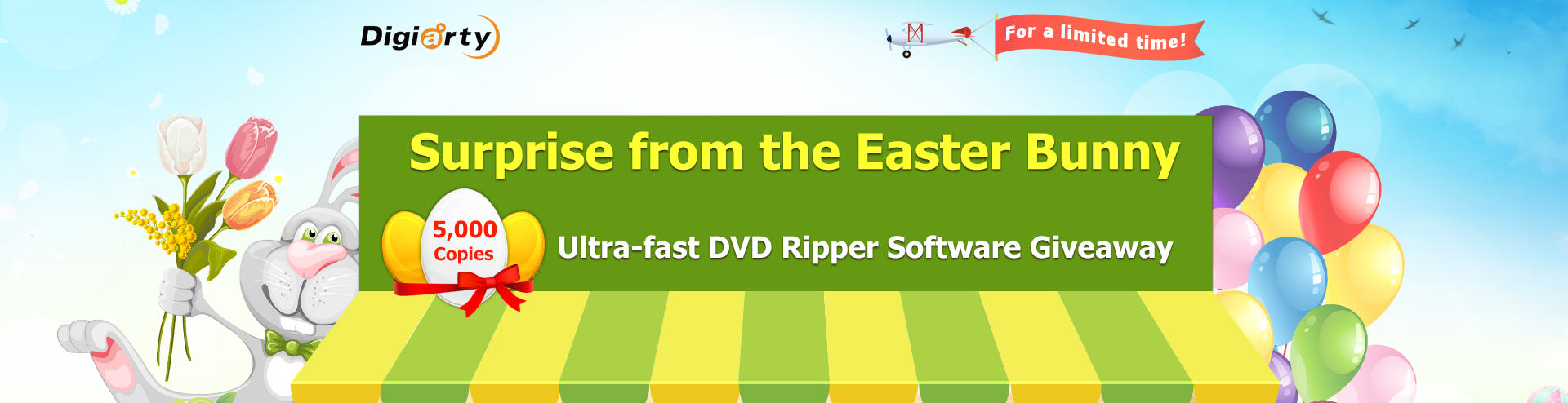 Digiarty Easter Giveaway