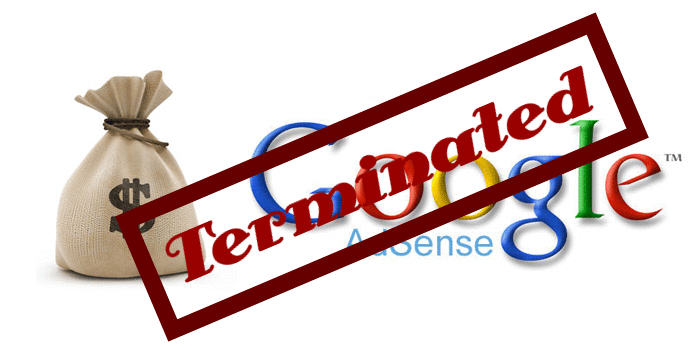 Google AdSense Account Terminated