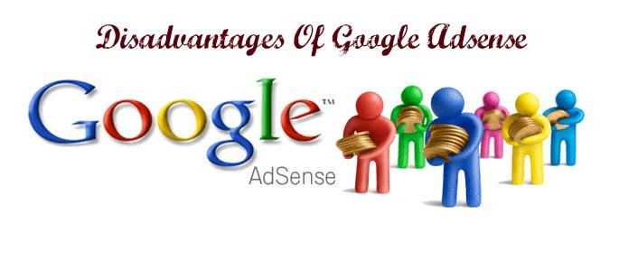 The Disadvantages Of Google Adsense