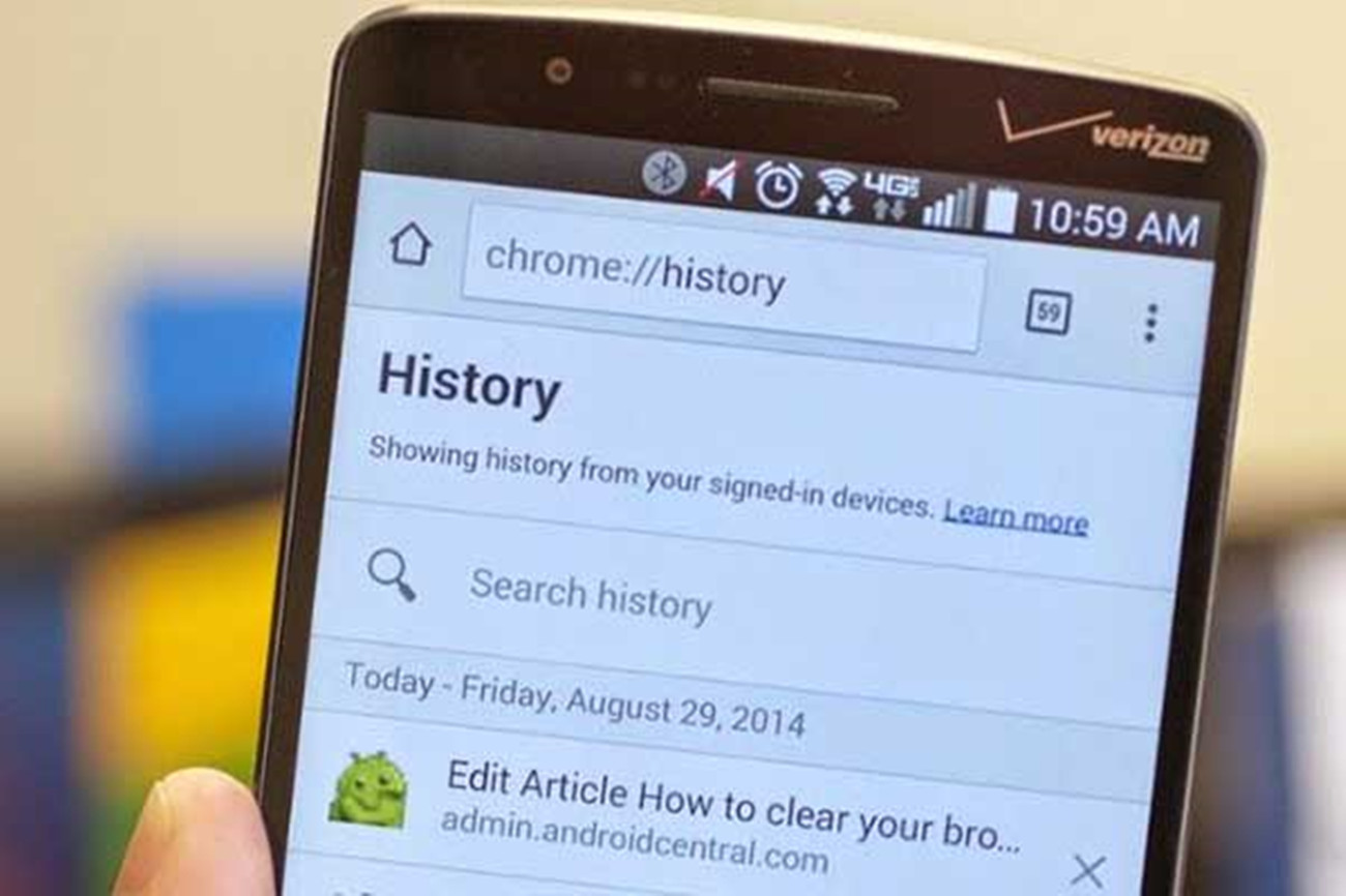Recover Deleted History