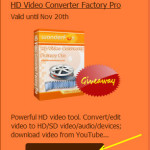 Wonderfox HD Video Converter Giveaway